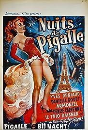 Nuits de Pigalle Poster