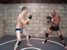 MMA Fight 3 seven min rounds 21 min MMA Fight