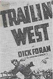 Trailin' West Poster
