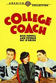 College Coach (1933) Poster - Movie Forum, Cast, Reviews