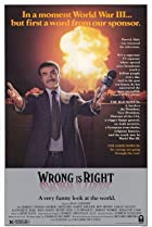 Image of Wrong Is Right