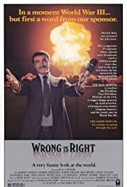Wrong Is Right (1982) Poster - Movie Forum, Cast, Reviews
