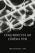 Image of Cinq minutes de cinéma pur