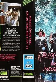 La loca historia de los tres mosqueteros Poster