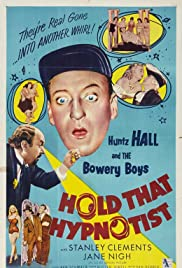Hold That Hypnotist (1957) Poster - Movie Forum, Cast, Reviews