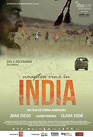 Anochece en la India Poster