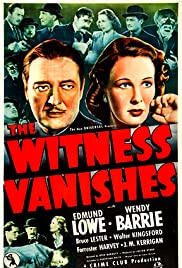 The Witness Vanishes Poster