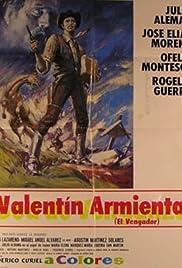 Valentin Armienta el vengador Poster