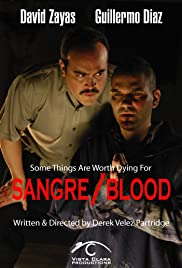 Sangre/Blood Poster