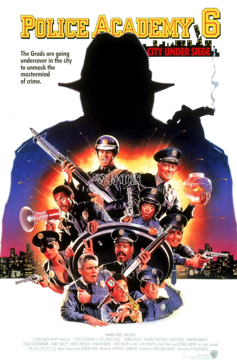 Police Academy 6: City Under Siege Watch Full Movie Free Online