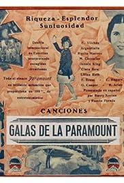 Galas de la Paramount Poster