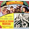 Spencer Tracy, Robert Wagner, Richard Widmark, and Jean Peters in Broken Lance (1954)