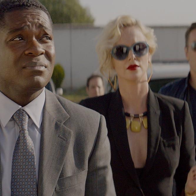 Charlize Theron, Joel Edgerton, and David Oyelowo in Gringo (2018)