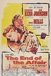 The End of the Affair(1955) Poster - Movie Forum, Cast, Reviews