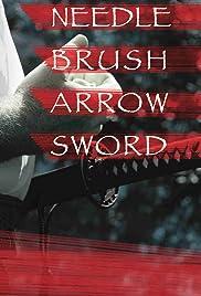 Needle, Brush, Arrow, Sword Poster