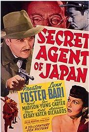 Secret Agent of Japan Poster
