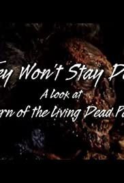 They Won't Stay Dead: A Look at Return of the Living Dead Part II Poster