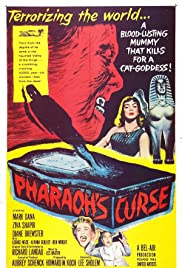 Pharaoh's Curse (1957) Poster - Movie Forum, Cast, Reviews