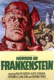 The Horror of Frankenstein Poster