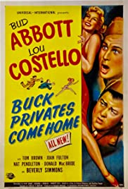 Buck Privates Come Home (1947) Poster - Movie Forum, Cast, Reviews