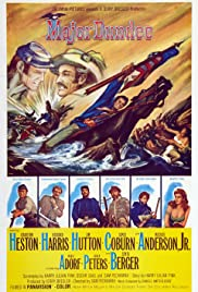 Major Dundee Poster