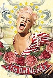 P!nk - I'm Not Dead: Bonus DVD Poster