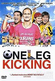 One Leg Kicking Poster