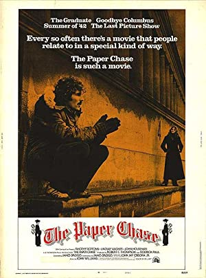 The Paper Chase Pelicula Poster