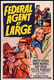 Federal Agent at Large Poster