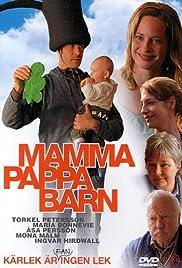 Mamma pappa barn Poster