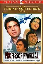 Professor Pyarelal Poster