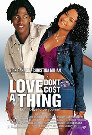 Poster Love Don't Cost a Thing