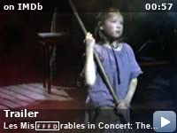 les miserables in concert the th anniversary imdb videos
