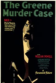 The Greene Murder Case Poster