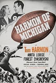 Harmon of Michigan Poster