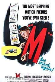 M(1951) Poster - Movie Forum, Cast, Reviews