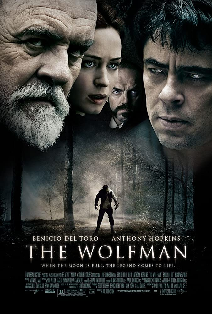 The Wolfman 2010 720p BRRip Dual Audio Watch Online Free Download