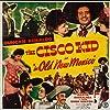 Martin Garralaga, Gwen Kenyon, Duncan Renaldo, and Lee 'Lasses' White in The Cisco Kid in Old New Mexico (1945)