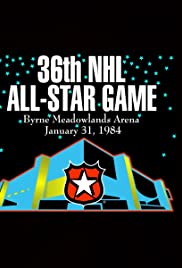 1984 NHL All-Star Game Poster