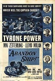 Abandon Ship(1957) Poster - Movie Forum, Cast, Reviews