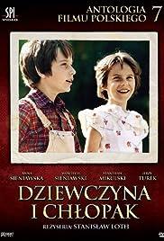 Dziewczyna i chlopak Poster