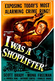 I Was a Shoplifter(1950) Poster - Movie Forum, Cast, Reviews
