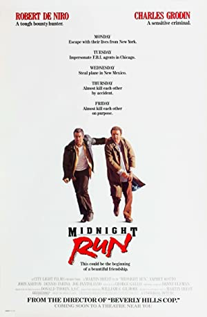 Midnight Run poster