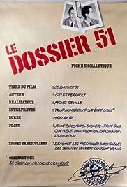 Dossier 51(1978) Poster - Movie Forum, Cast, Reviews