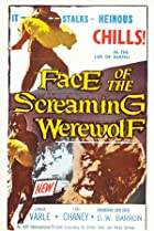 Image of Face of the Screaming Werewolf