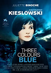 Three Colors: Blue poster