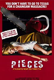 Pieces (1982) Poster - Movie Forum, Cast, Reviews