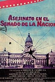 Asesinato en el senado de la nación Poster