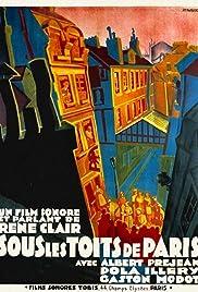 Sous les toits de Paris(1930) Poster - Movie Forum, Cast, Reviews