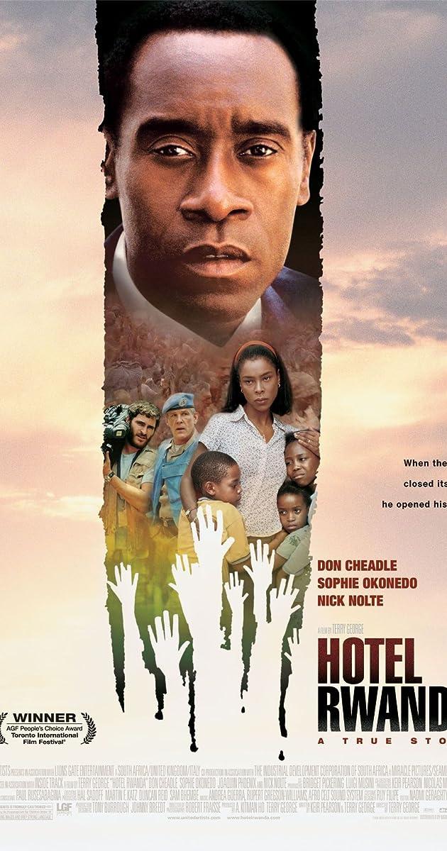 Ruandos viešbutis / Hotel Rwanda (2004) Online